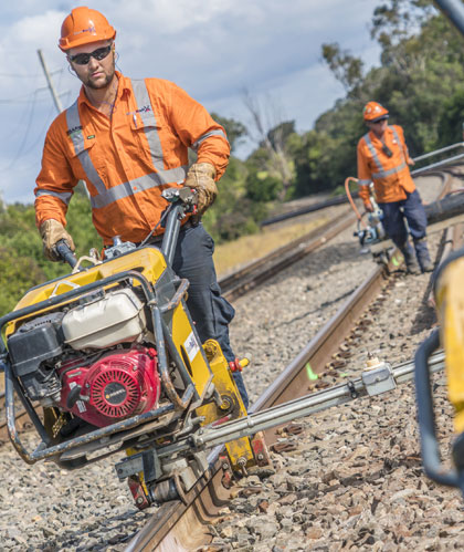 rail work diversity